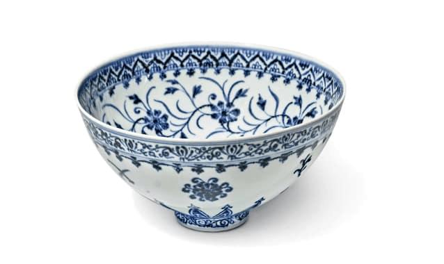 美拍卖罕见青花瓷碗:估价50万美元,卖家入手仅花35美元