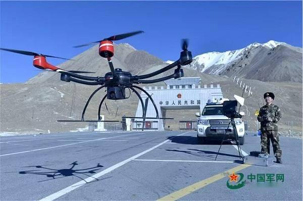 科卫泰员工建功高原 科卫泰无人机也成高原边防部队的好帮手