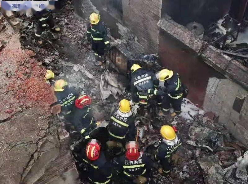 江西一人工增雨飞机发生坠机事故 机上五人遇难