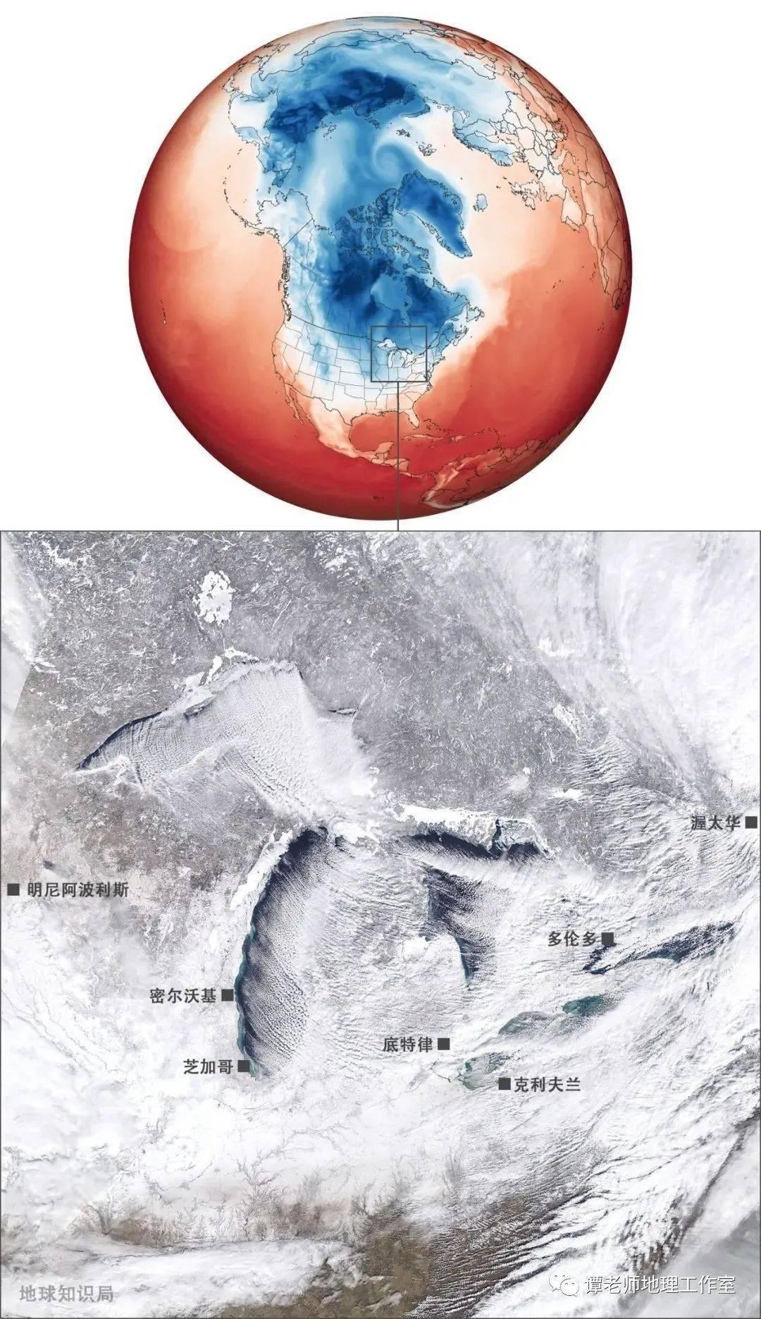 【地理探究】科学家发现了什么?突然宣布全球变暖会停止?美国和希腊的超级寒潮和极涡