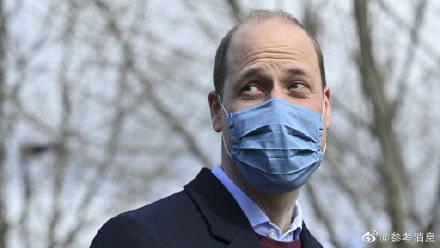 美媒:威廉王子被评为最性感秃顶男人