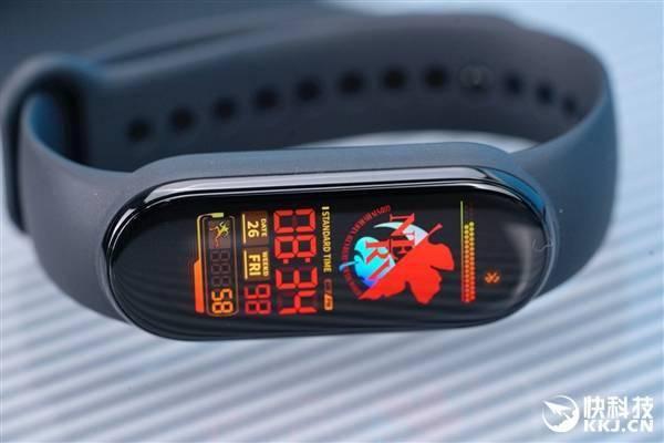 跑道全面屏!小米手环6首发图赏:显示面积增加50%的照片 - 7