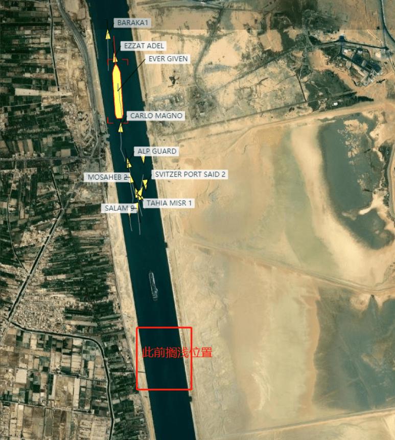 危机解除!苏伊士运河搁浅货轮正往北方地中海方向移动,国际油价应声下跌