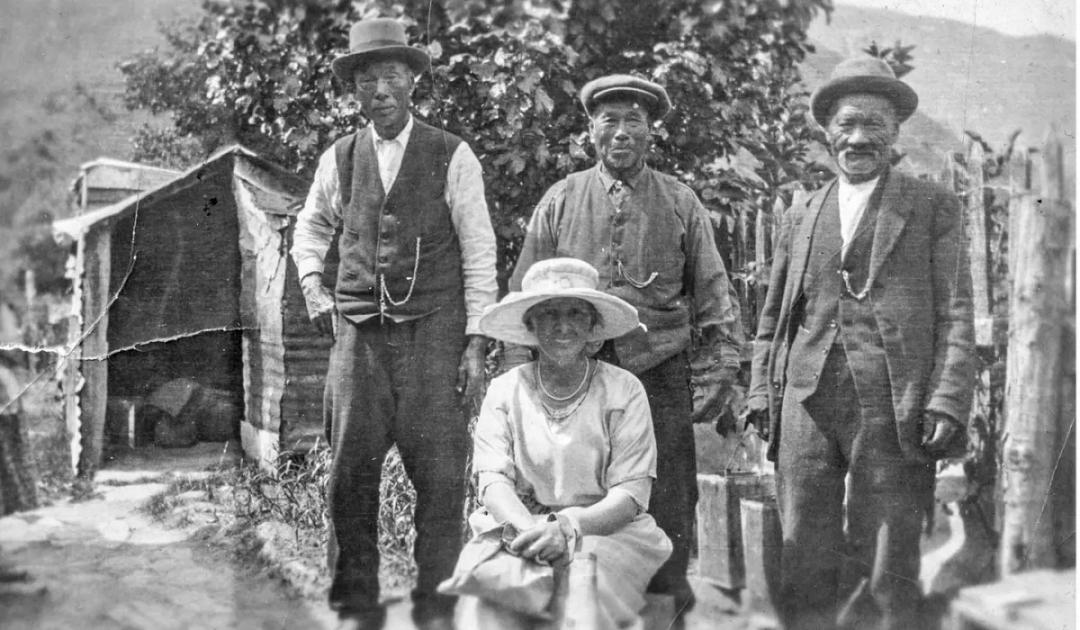 淘金热时期发了小财的华人矿工