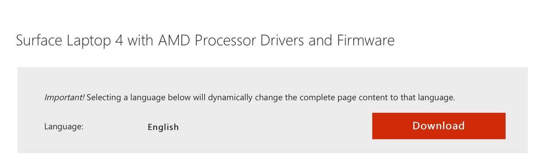 微软 Surface Laptop 4 支持页面泄露,英特尔/AMD 双版本确认