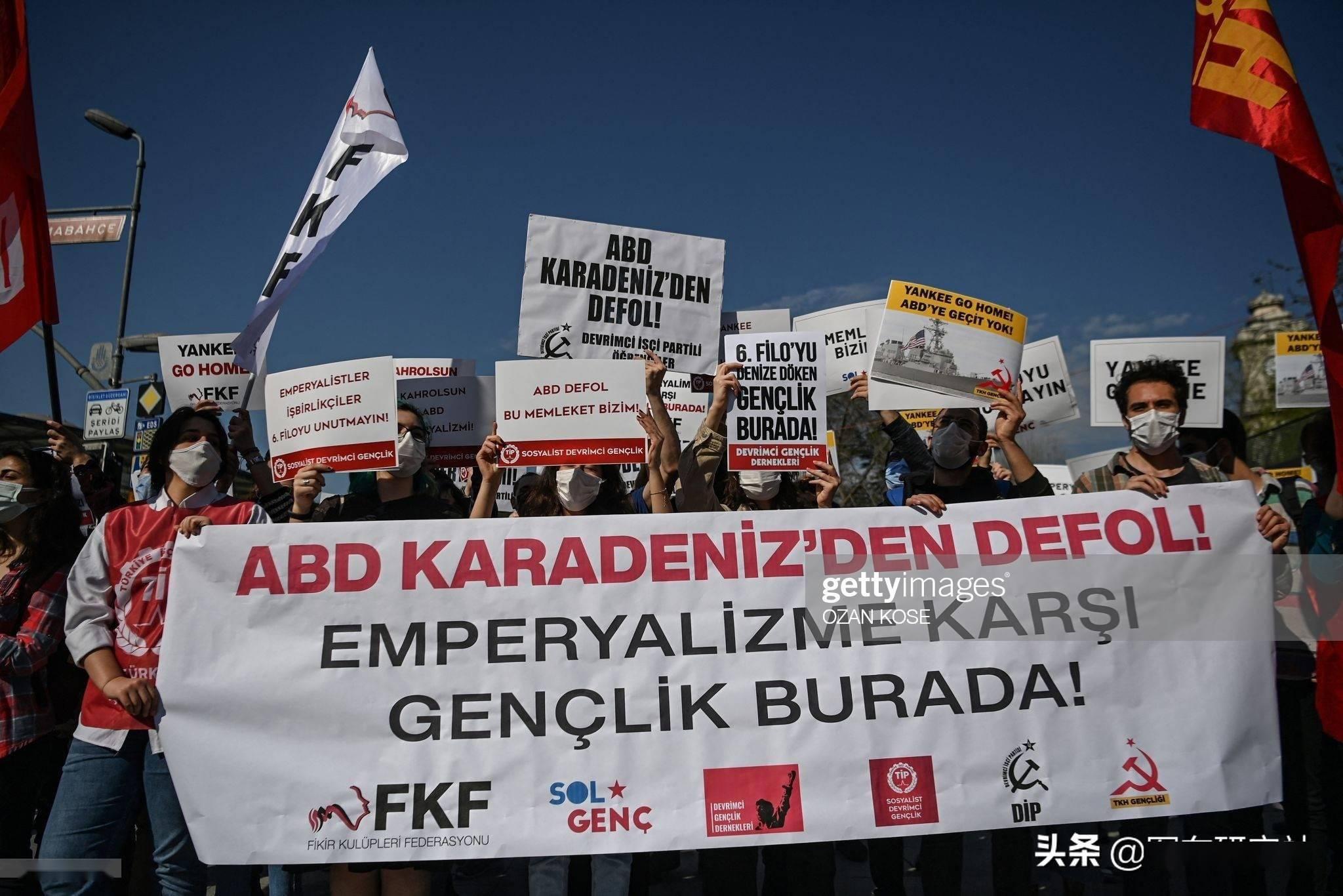 乌克兰被当猴耍!土耳其抗议美军舰经博斯普鲁斯海峡支援乌克兰