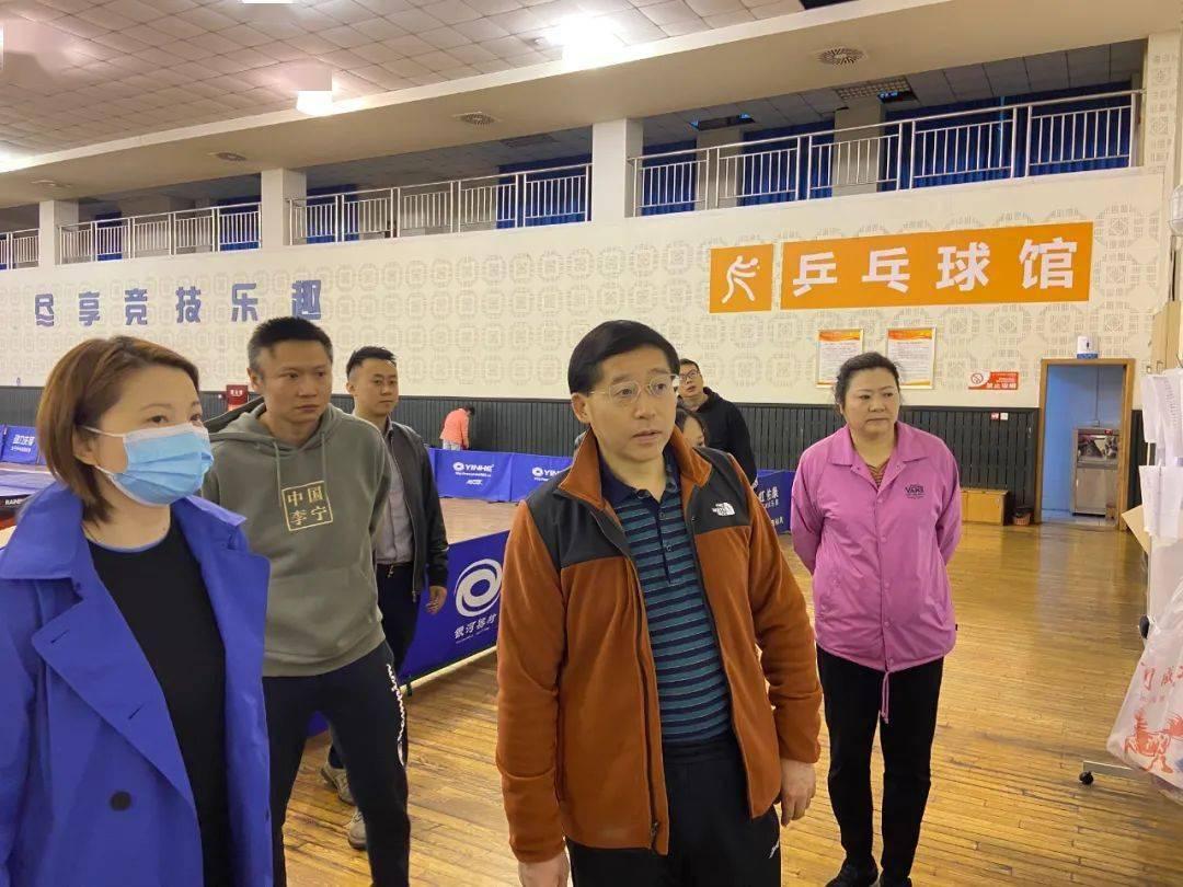 罗冬灵局长检查指导四川体职院训练备战和党史学习教育工作