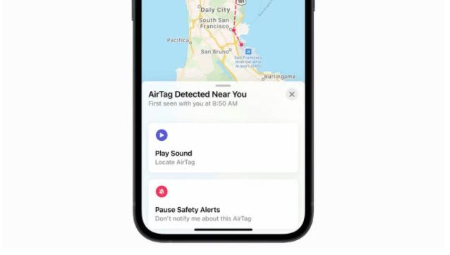 """苹果称""""陌生""""AirTag 会在用户返回家中时触发 iPhone 警报通知"""