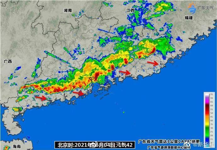 强雷雨致广州白云机场取消航班158架次,81个航班延误