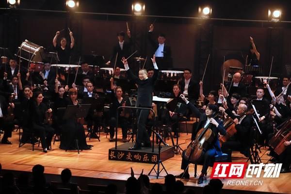 谭盾与长沙交响乐团合作演绎音像剧《武侠三部曲》