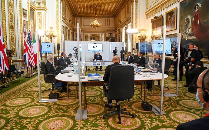 美官员:G7外长会讨论中俄议题的时长是阿富汗问题的3倍