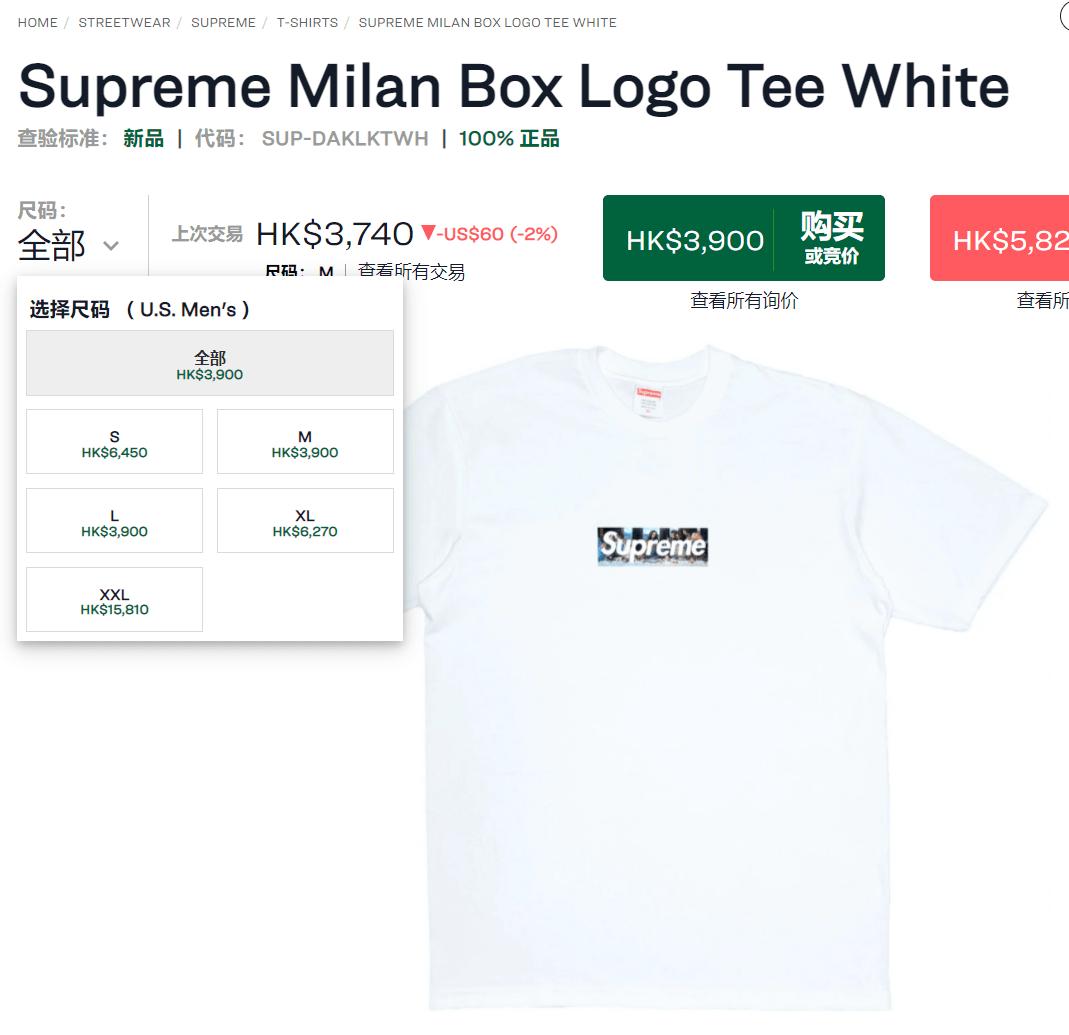 警车来了!Supreme新店T恤被炒到3000+,疑正被叫停发售!