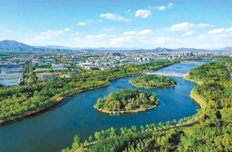 潮白河生态补水20天已累计放水1.1亿方