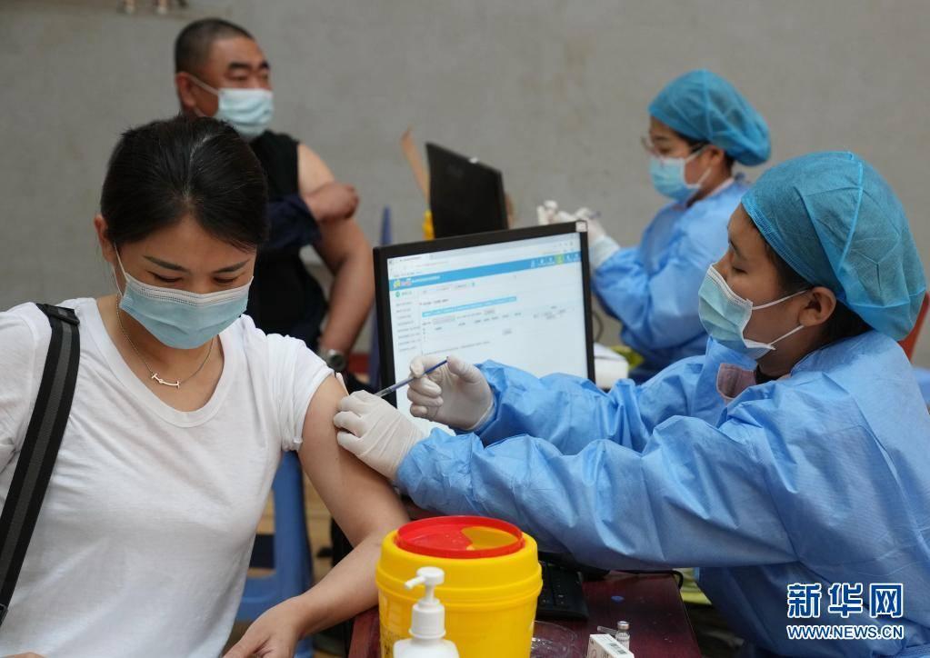 河北唐山:有序開展新冠疫苗接種