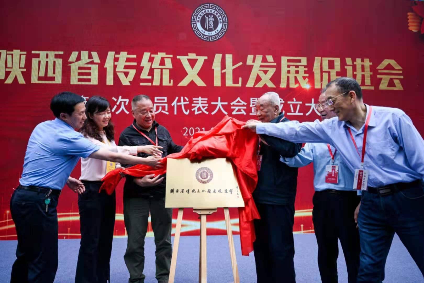 陕西省传统文化发展促进会西安成立