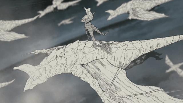 """漫画「怪兽8号」公开第三弹PV 新敌人""""怪兽9号""""于高空突袭防卫基地"""