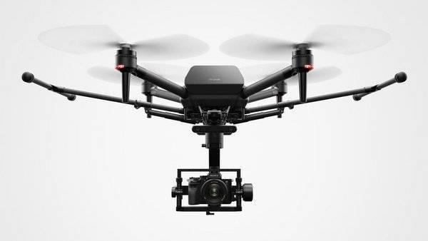 索尼釋出首款專業無人機Airpeak S1