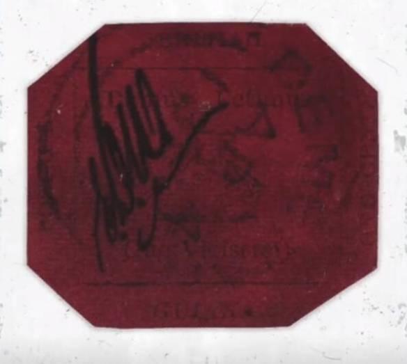 世界最贵邮票拍卖成交价高达830万美元1美分起拍