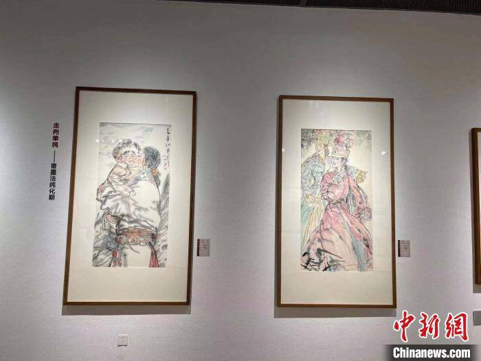吴山明美术馆杭州开馆 吴高岚:父亲遗愿终于实现