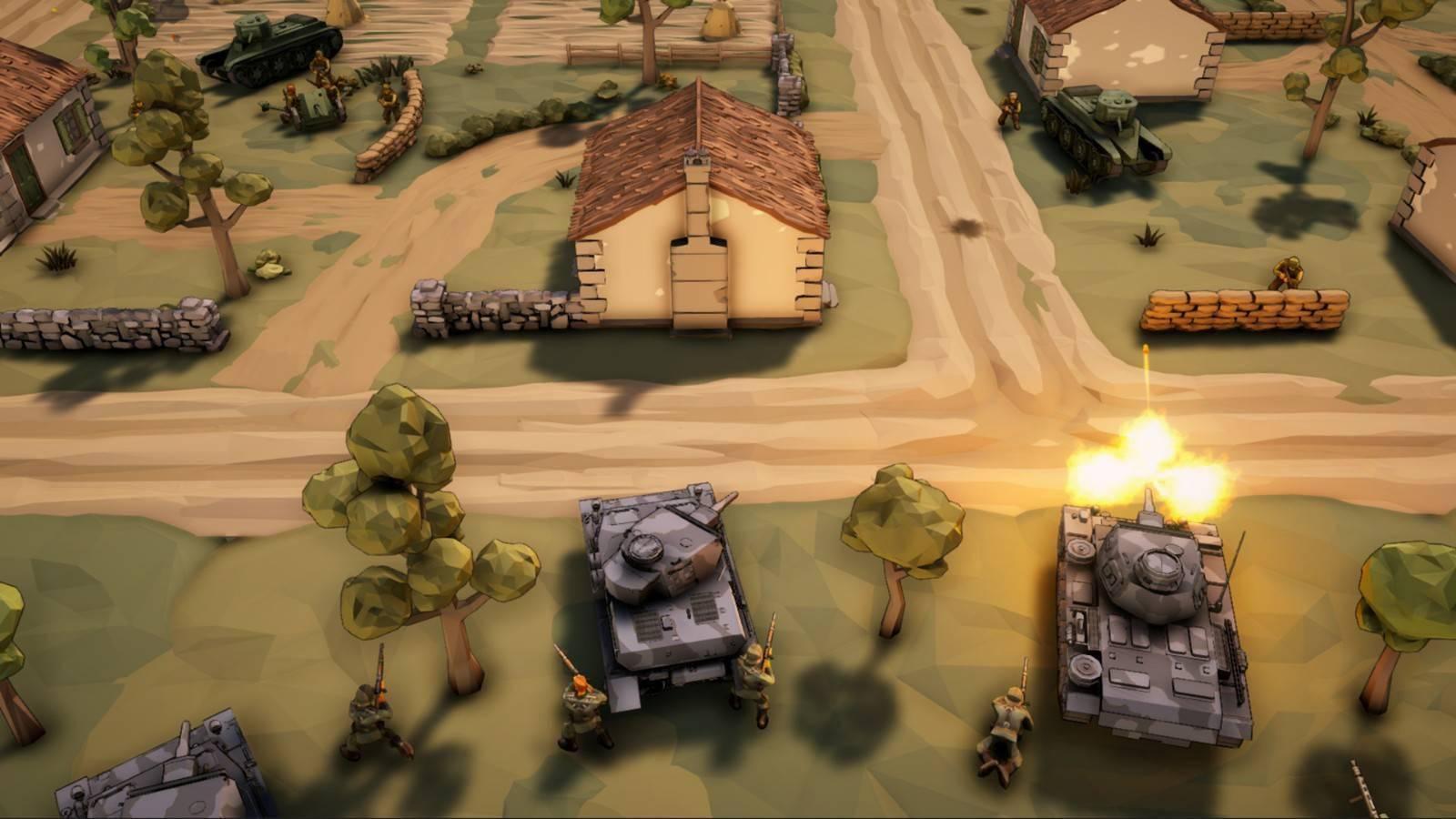 策略射击游戏《卫国战争》现已上架Steam商城