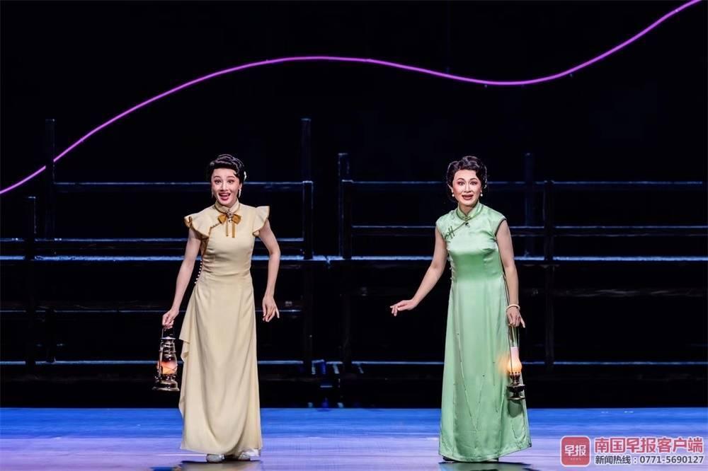 大型桂剧《燕歌行》展演 再现桂林抗战文化城风貌