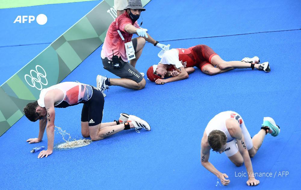 水质太差?东京奥运会铁人三项赛后数名选手倒地呕吐
