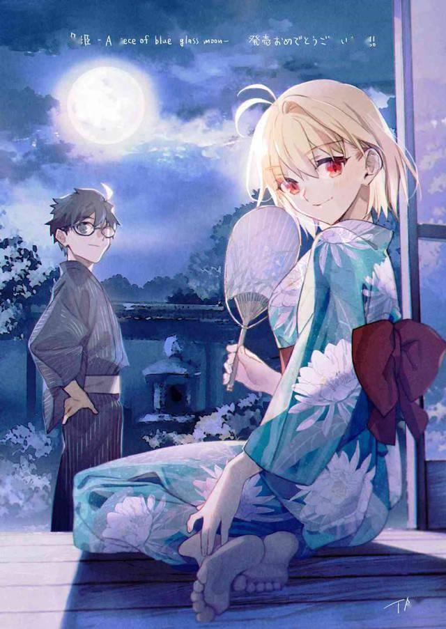TAa「月姬 -A piece of blue glass moon-」发售贺图公开插图