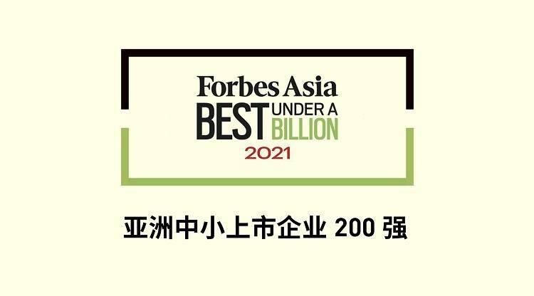 福布斯中国企业排行榜_福布斯发布2021亚洲中小上市企业200强,大中华64家企业上榜