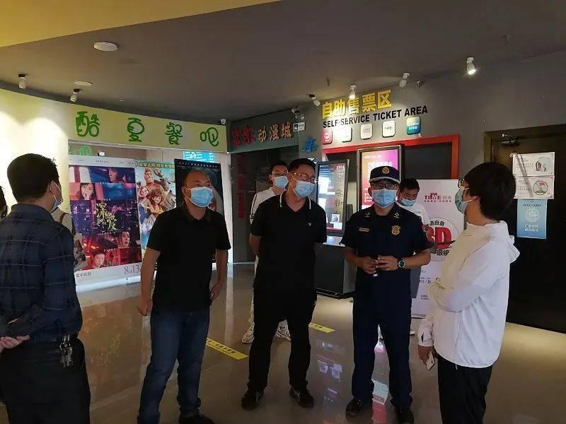 【晋宁消防】晋宁区宣传部部长储照芳带队开展公众娱乐场所消防安全检查