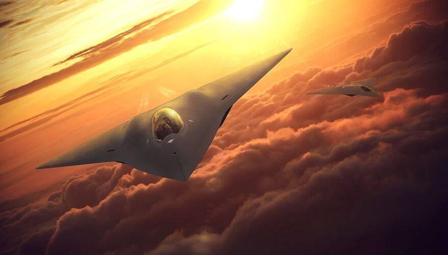 担心在研最新六代机不行?美国空军中将透露设计NGAD继任机型信息