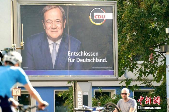 德国大选初步预测结果显示社民党得票率领先