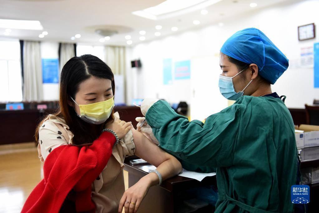 安徽合肥启动接种新冠疫苗加强针接种工作