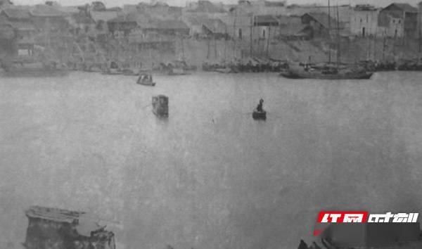 老照片新湖南|感受沈从文笔下的常德河街和码头