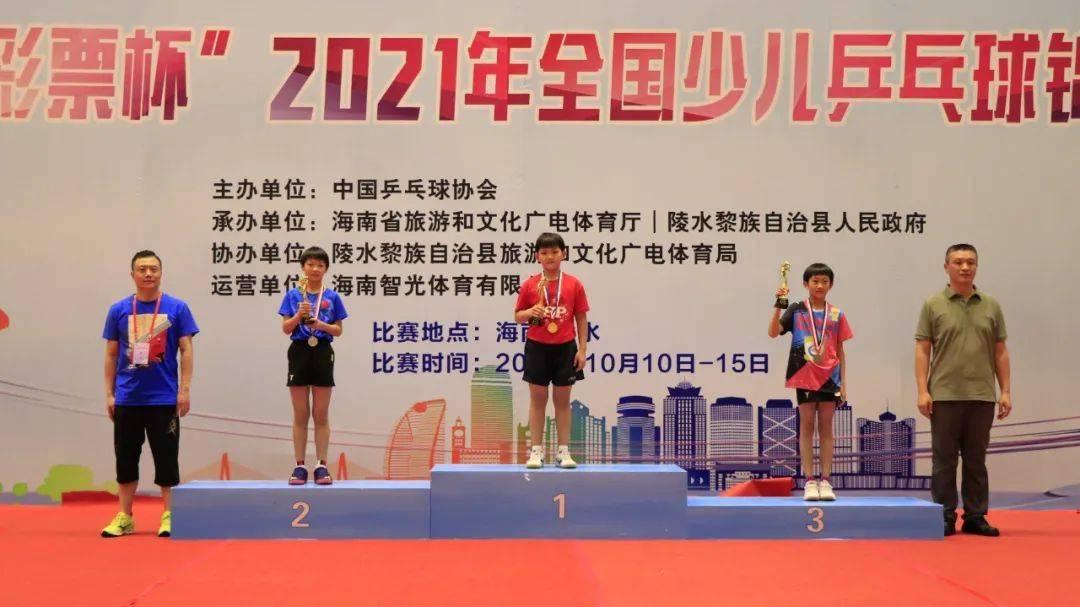 全国少儿乒乓球锦标赛落幕,冠军名单出炉,各省后备力量大对比!